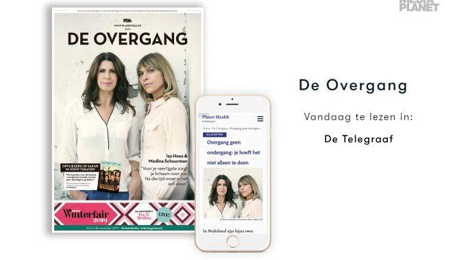 Campagne De Overgang Van Mediaplanet Als Bijlage In De Telegraaf